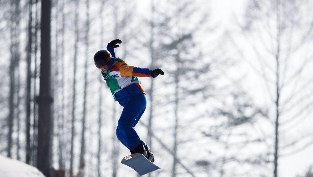 Astrid Fina bronce en snowboard cross en los Paralímpicos 2018