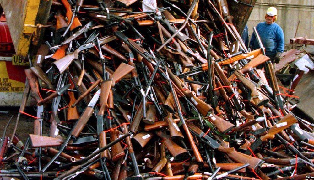 El desarme australiano: Un ejemplo de control de armas
