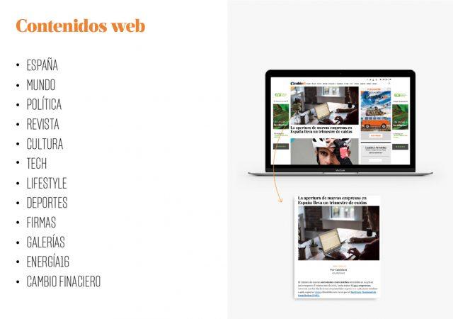 temas y contenidos web cambio16