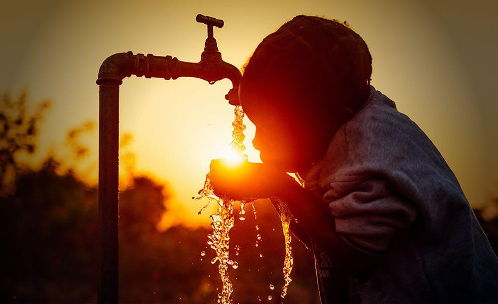 escasez mundial de agua