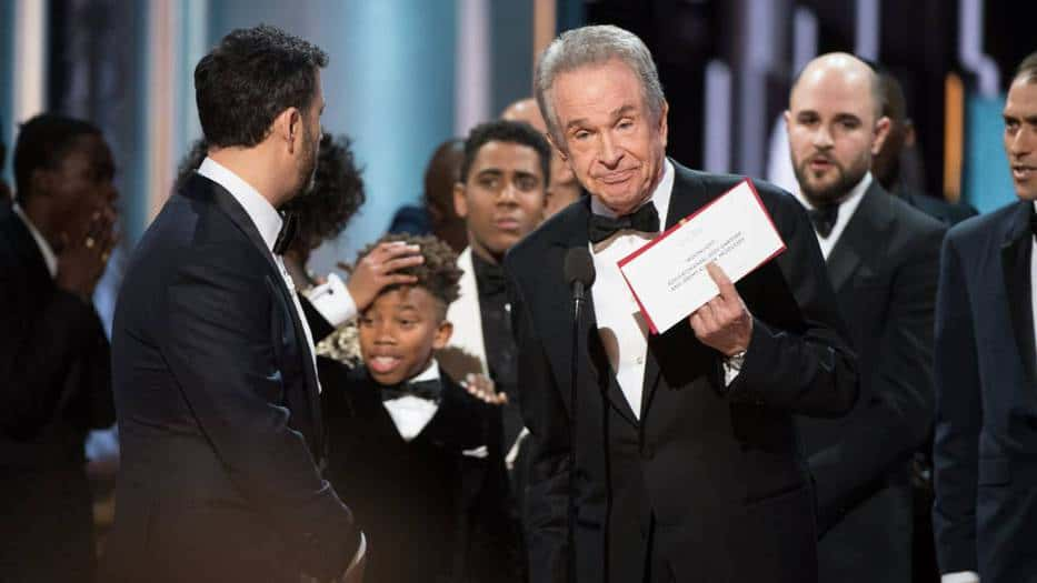 equivocación del Oscar