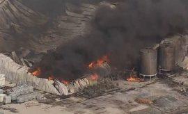 Explosión en una planta química en Texas