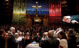 funeral del Maestro Abreu
