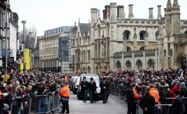 Funeral de Stephen Hawking