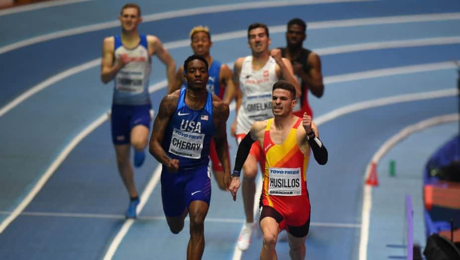 Óscar Husillos descalificado tras lograr el oro en Birmingham