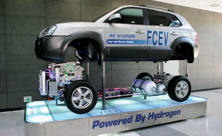 Los coches de hidrógeno dan un paso al frente