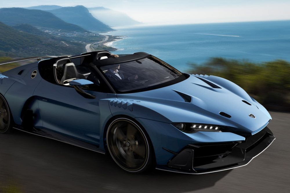 Italdesign Zerouno Duerta Roadster