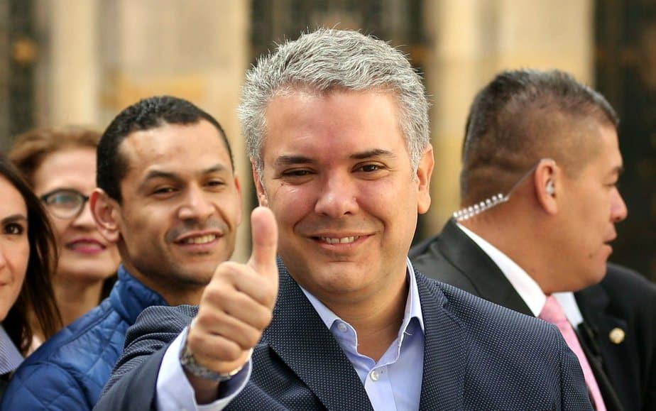 Ivan Duque lidera la intención de voto en Colombia