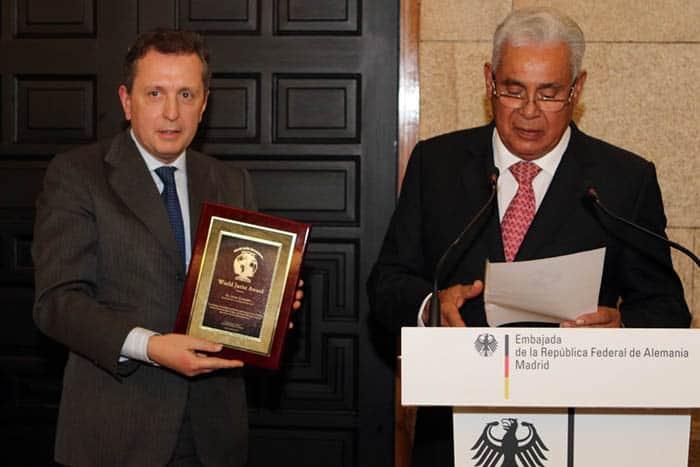 Javier Cremades, Jurista del año.