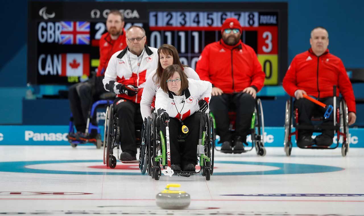 Deportes de los juegos paralímpicos de invierno: Curling en silla de ruedas