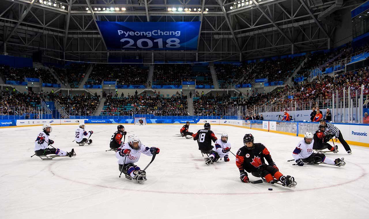 Deportes de los juegos paralímpicos de invierno: Hockey sobre hielo