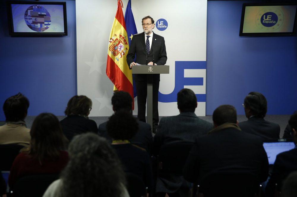 """Otras elecciones en Cataluña """"no son buenas"""", dijo Rajoy"""