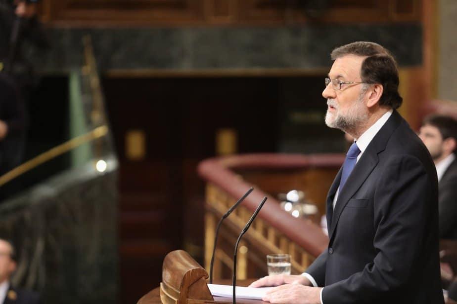 Mariano Rajoy ha comparecido en el Congreso en el debate sobre la mejora de las pensiones
