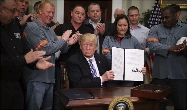 Los nuevos aranceles de Trump ya son oficiales