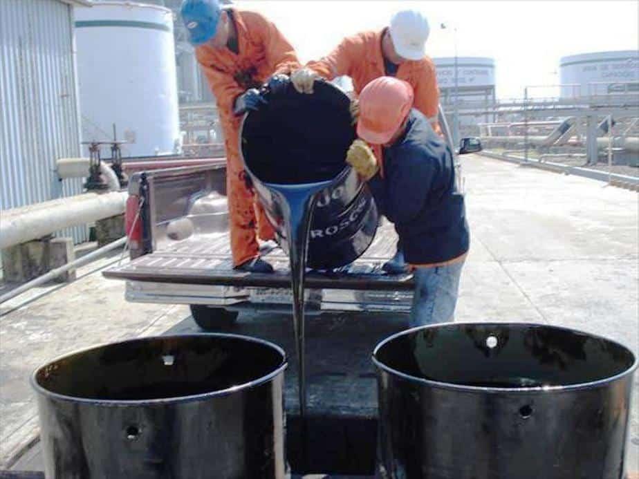 Petróleo pesado en Colombia