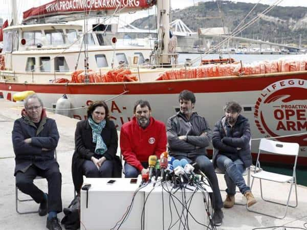 Proactiva Open Arms se enfrenta a la cárcel en Italia