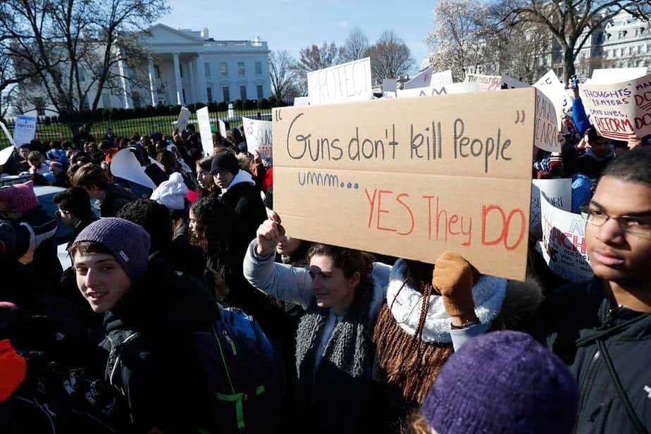 Huelga escolar contra las armas en EEUU