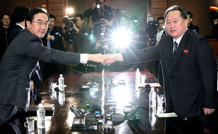 Reunión Corea del Norte y del Sur: la primera desde 2007