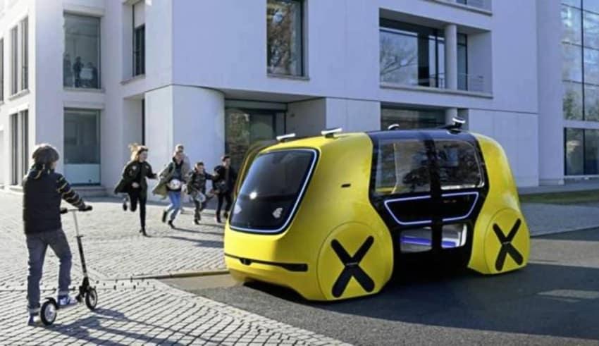 Robots autónomos de Volkswagenmejorarán la movilidad
