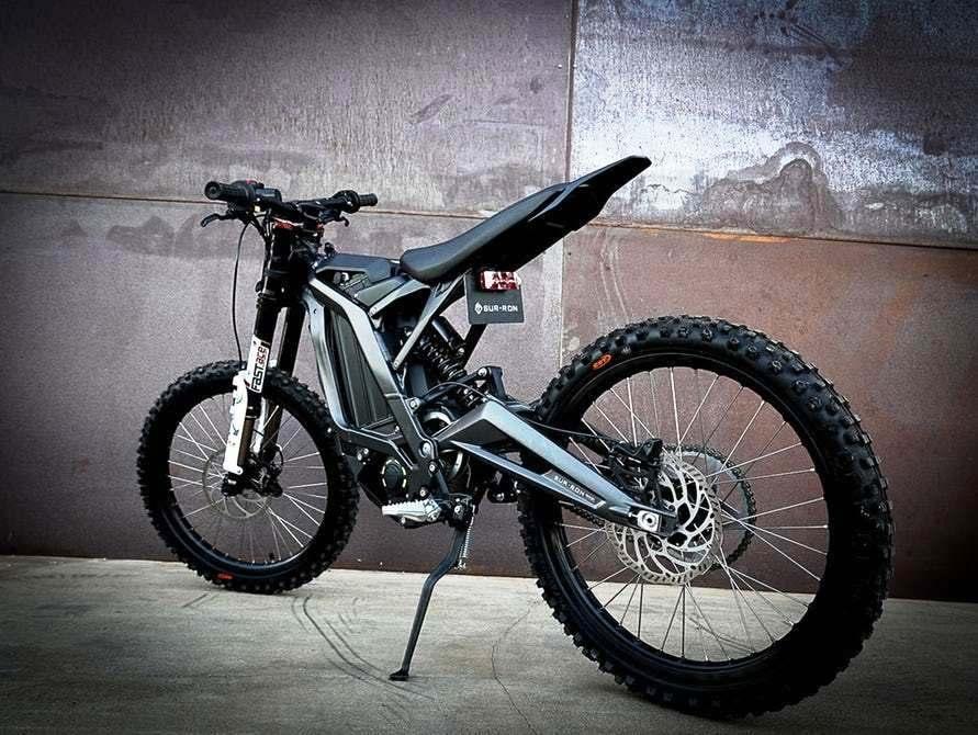 La moto eléctrica para montañas ya existe en China
