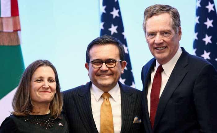 Nuevos acuerdos del TLCAN ignoran los aranceles de Trump