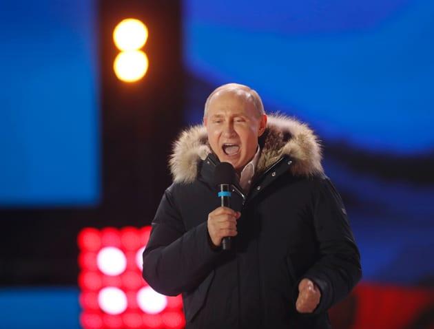Resultados de las elecciones en Rusia: Putin gana con el 60%
