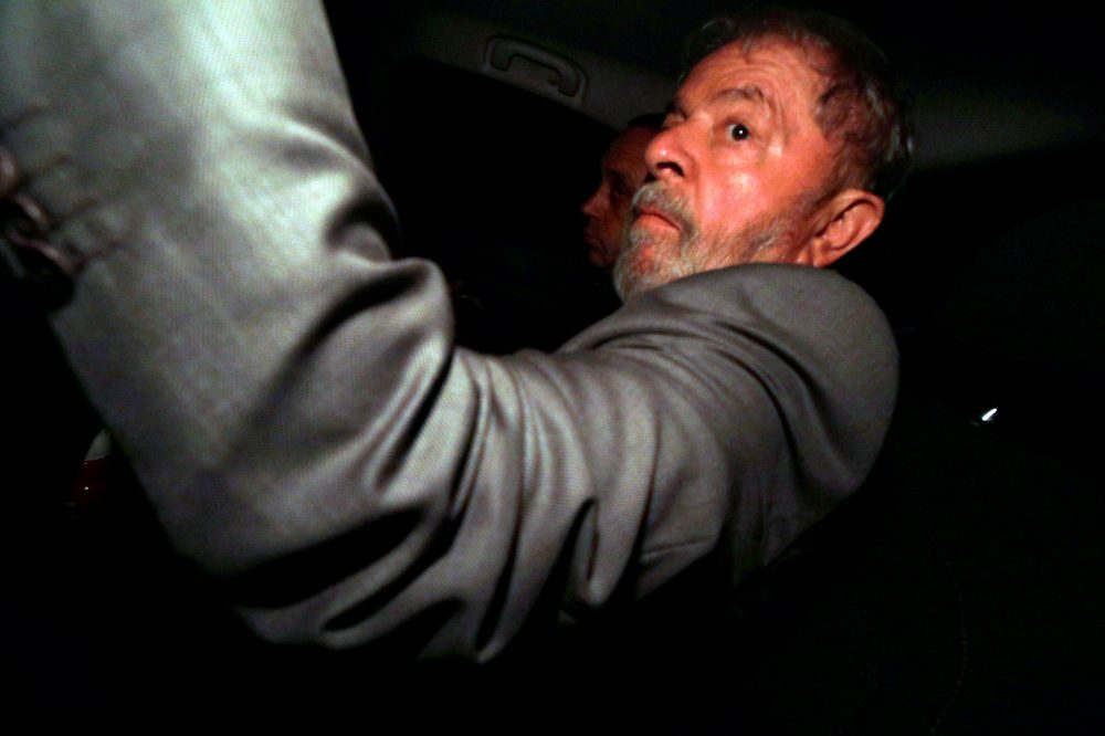 La justicia ordena el ingreso de Lula a prisión