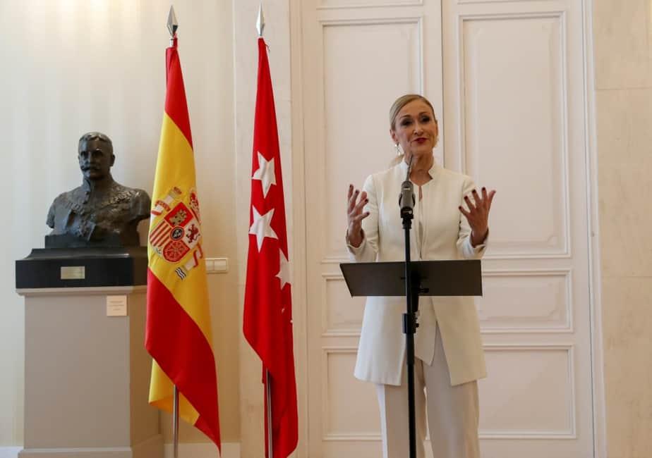 Cristina Cifuentes dimite