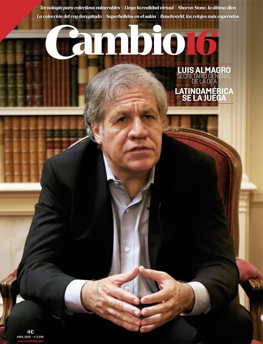 Cambio16 Portada 2246 Luis Almagro