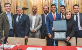 Homenaje póstumo en la Casa de América al político colombiano Mariano Ospina Hernández