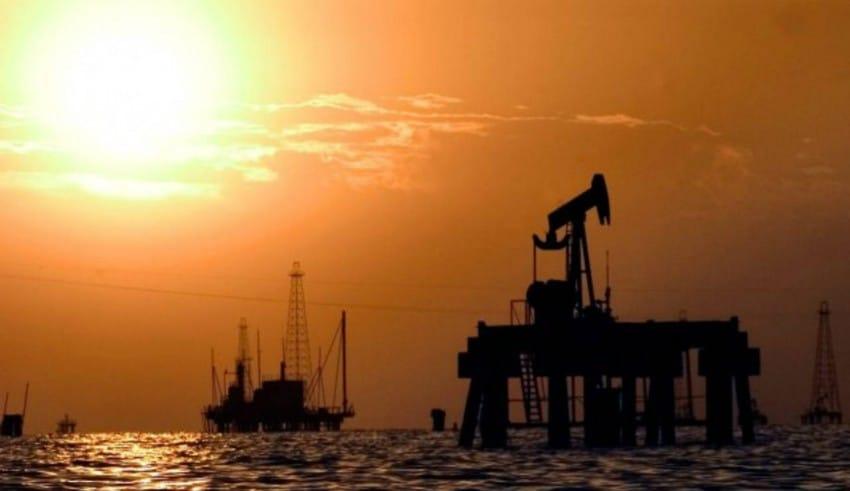 Extracción de petróleo en el Golfo de México