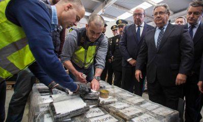 Últimas noticias en España: El mayor decomiso de cocaína en Europa