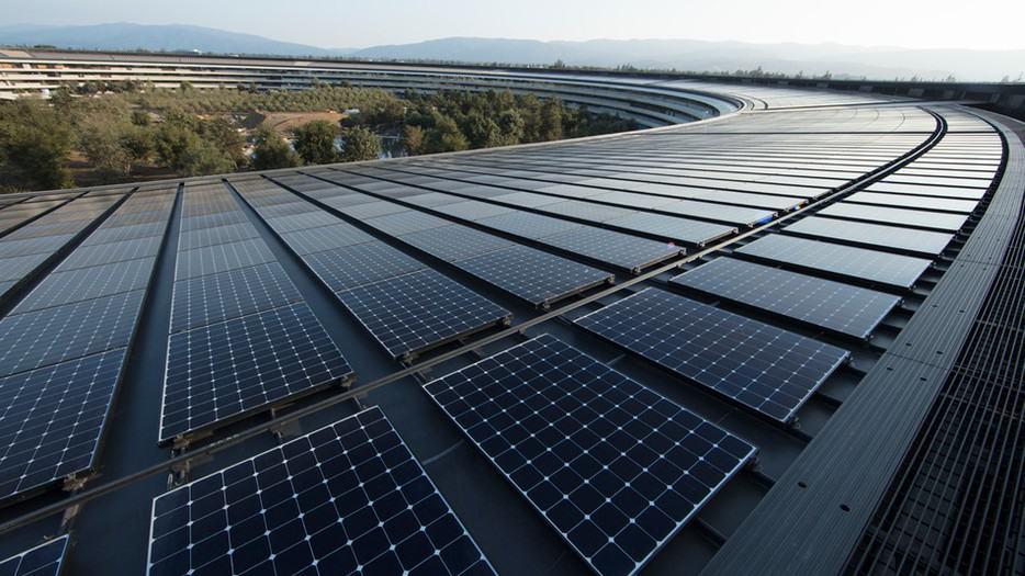 energía limpia de Apple