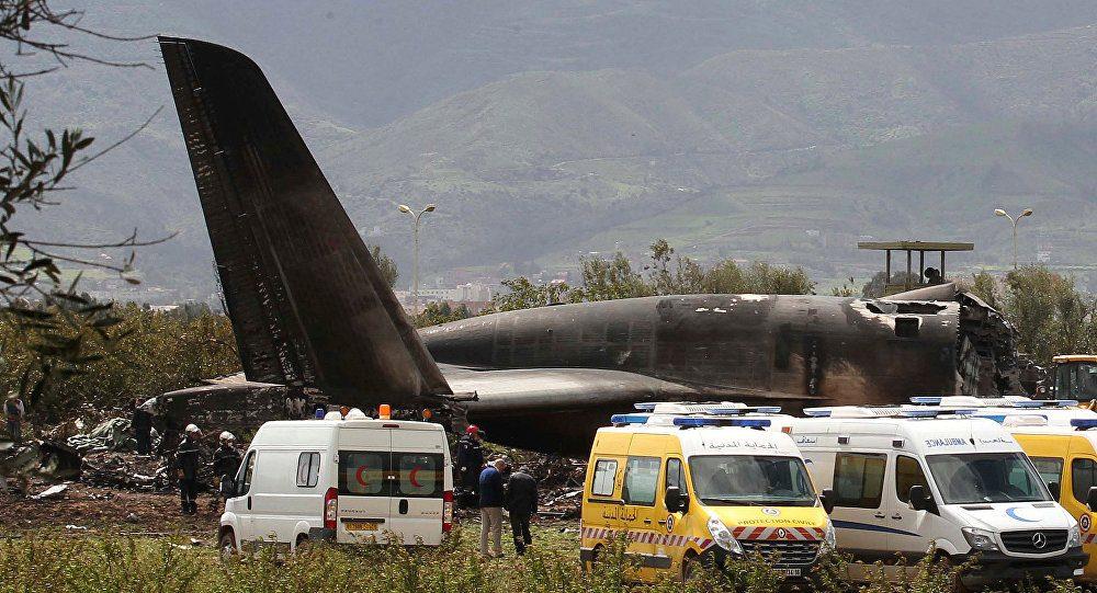 accidente en Argelia