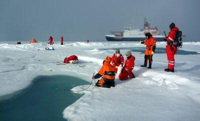 plástico en el Ártico
