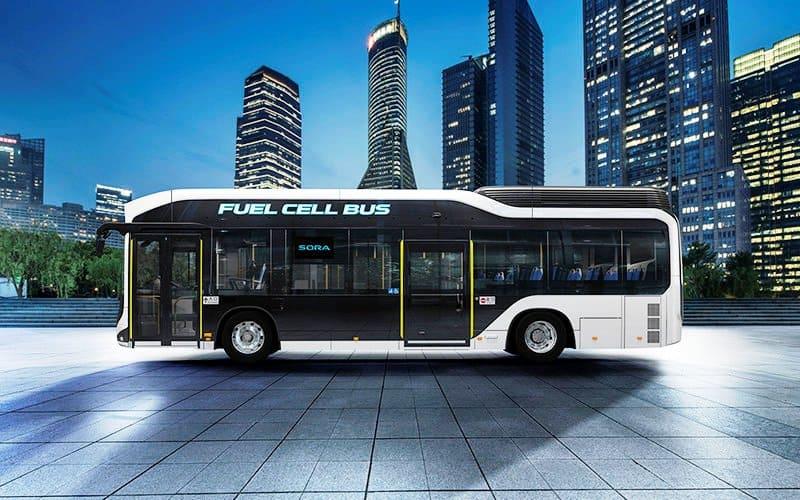 Autobuses a hidrógeno para Tokio