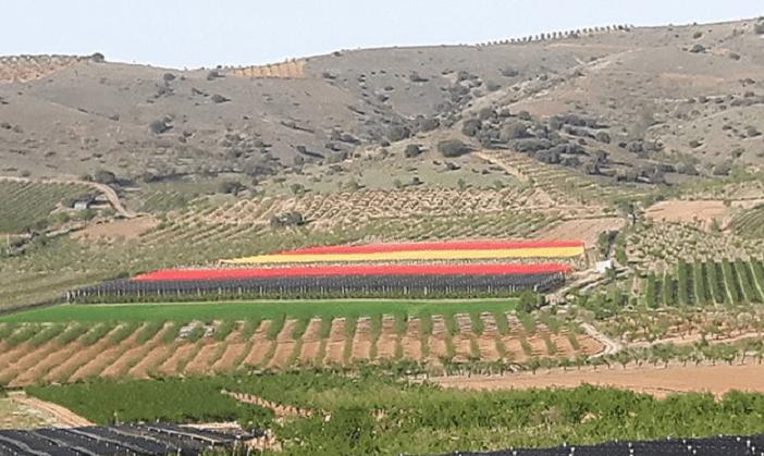 bandera de España más grande del mundo