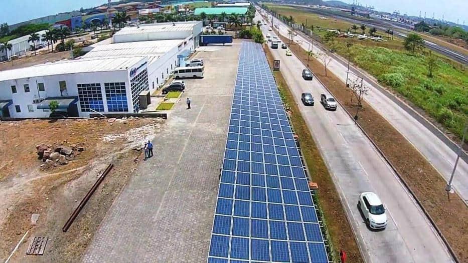 El uso de la energía solar aumenta en Panamá