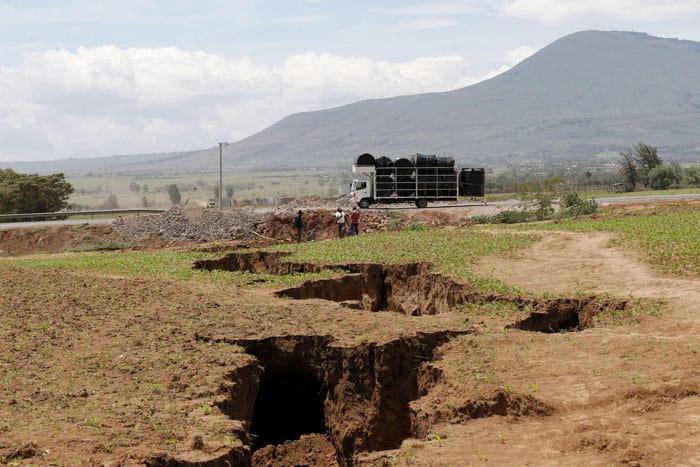 Grieta en Kenia