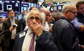 La guerra comercial puso a temblar el lunes a Wall Street