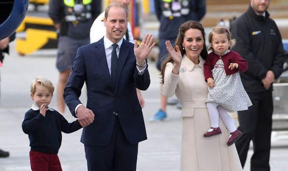 tercer hijo de los duques de Cambridge