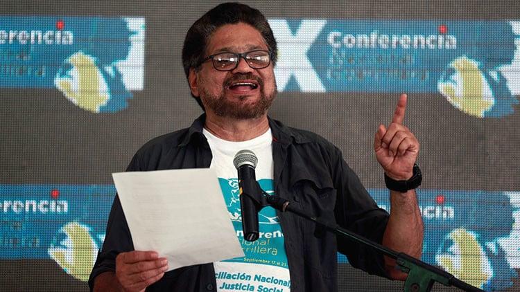 Iván Márquez de las FARC renuncia a su puesto en el Senado colombiano