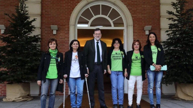 Las Kellys se reúnen con Rajoy