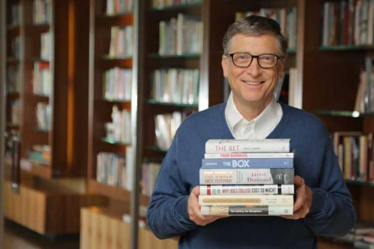 Los dos libros favoritos de Bill Gates, revelados por él mismo