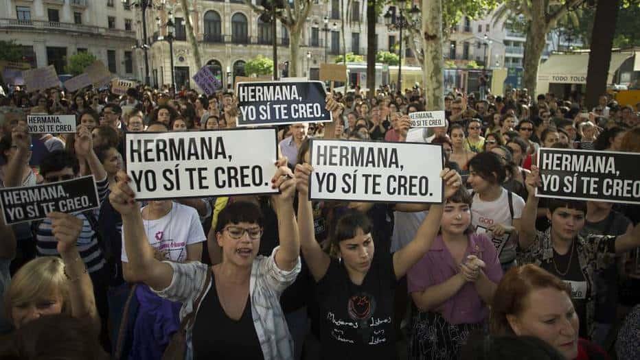 """Carta de la víctima de La Manada: """"No os quedéis callados"""""""