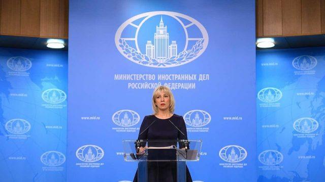Ataque en Siria: María Zajárova