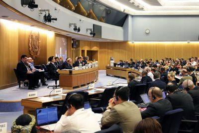 Reunión de la IMO es en Londres