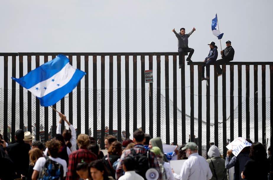 Galería: la caravana de migrantes que llegó a la frontera de EEUU
