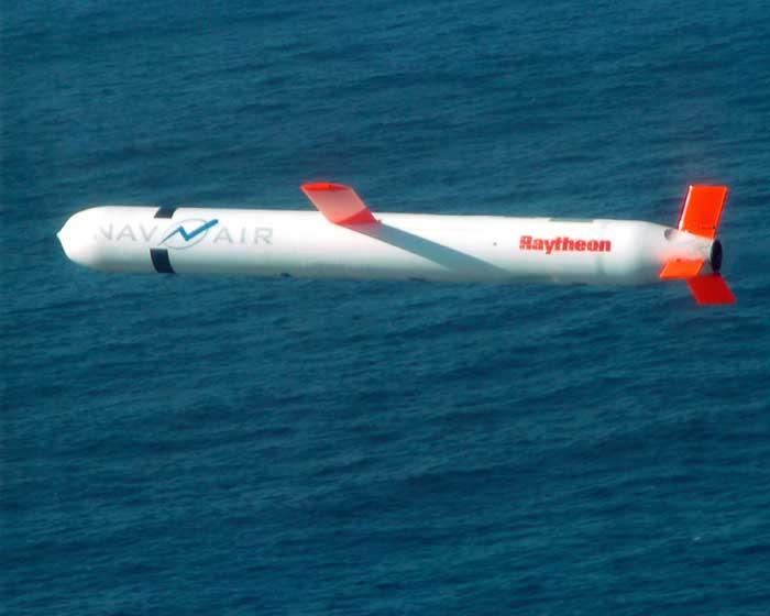 Ataque contra Siria: Misiles de Crucero