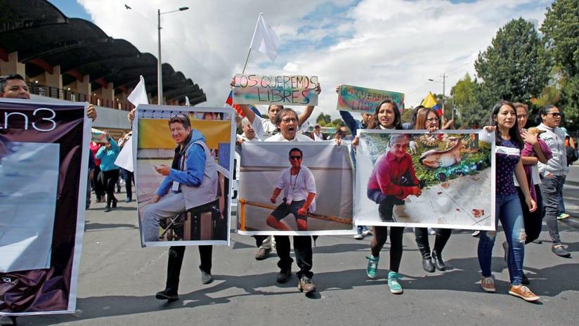 Ecuador confirmó la muerte de los periodistas secuestrados